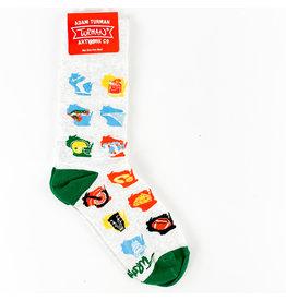 Turman WI Months Socks