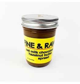 Fine and Raw Oat Milk Hazelnut Spread
