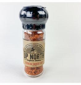 Up North Longhorn Smokers Sriracha Smoked Salt