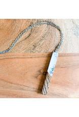Peter Mielech Necklace - White Stick