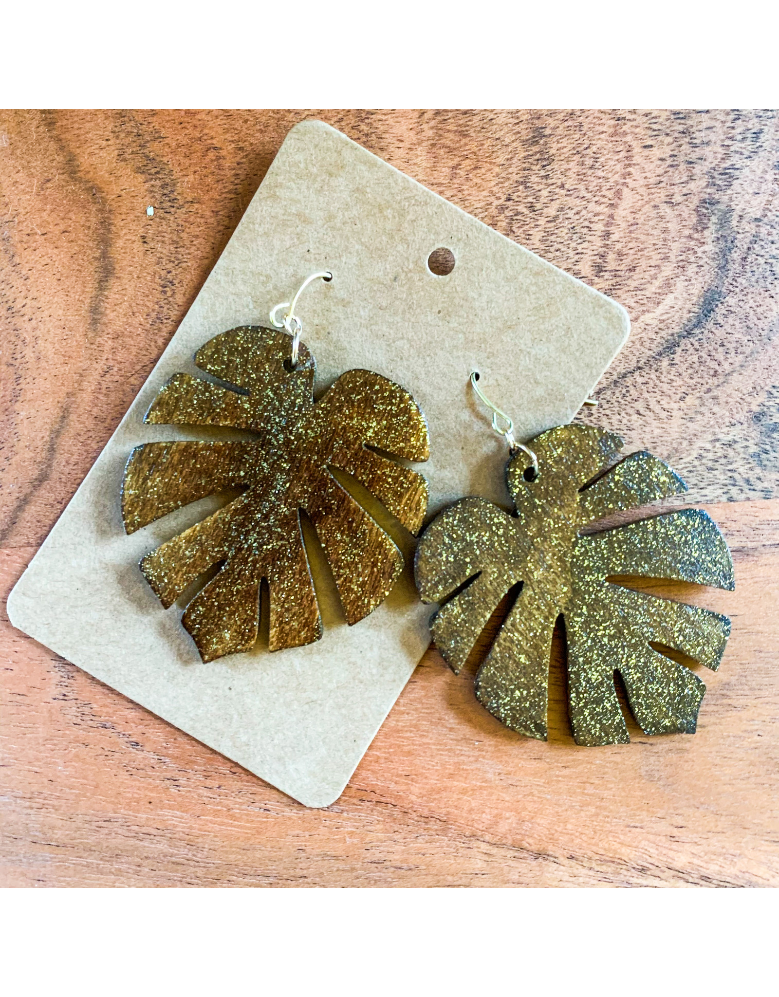 SARRA- Consignment Natural Sparkle Leaves Consignment