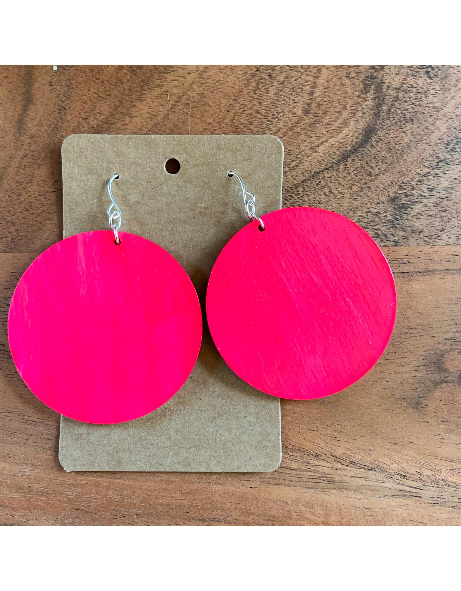 SARRA- Consignment Hot Pink Circles Consignment