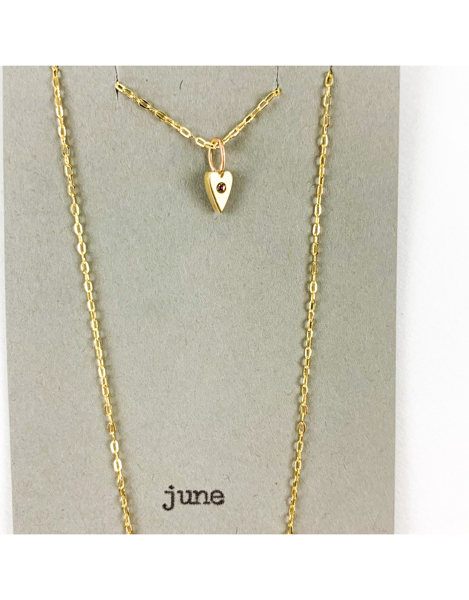 penny larsen June Necklace/Alexandrite