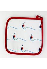 Cosette Designs Cherry/Spoon Hotpad