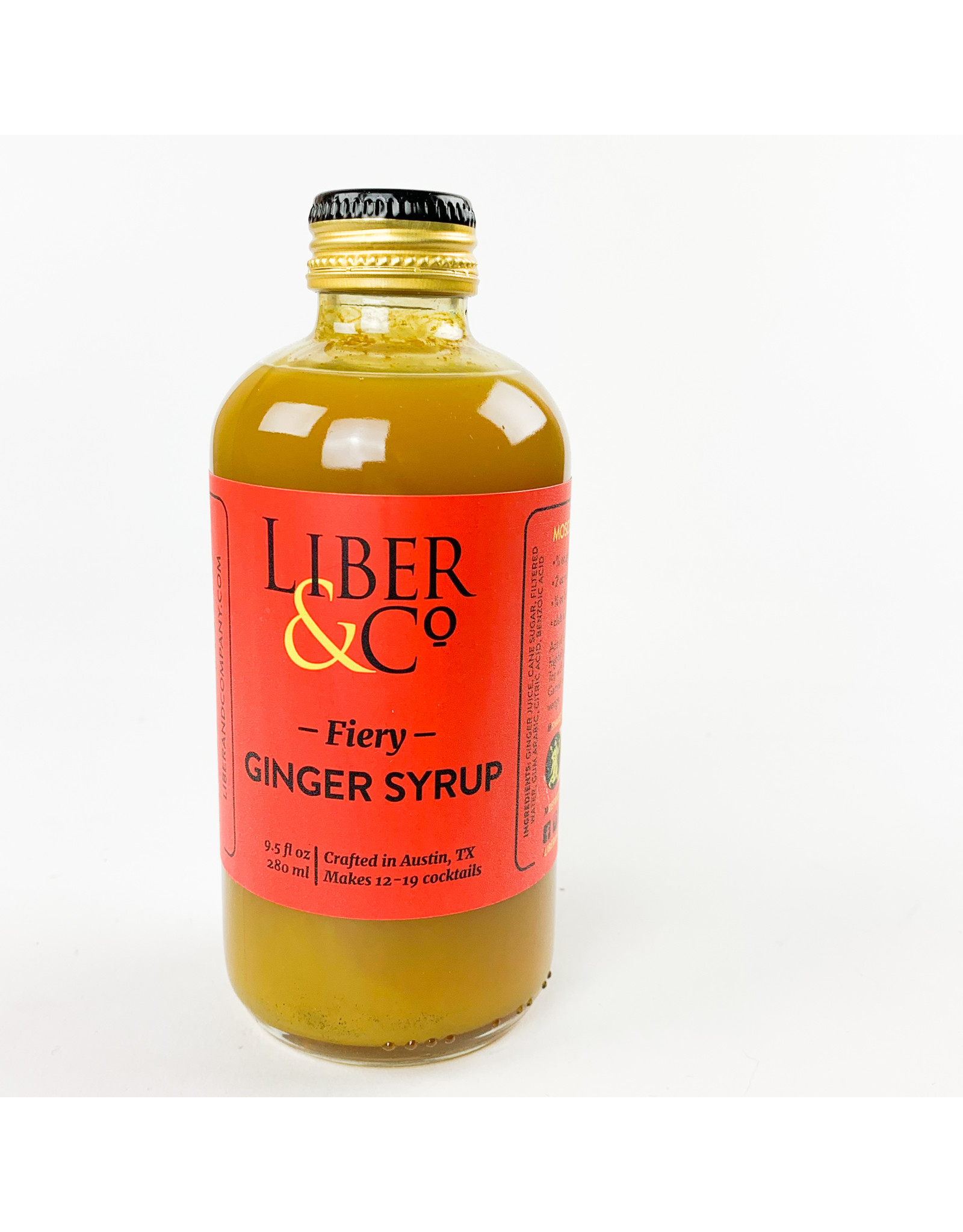 Liber and Co Ginger Cocktail Syrup