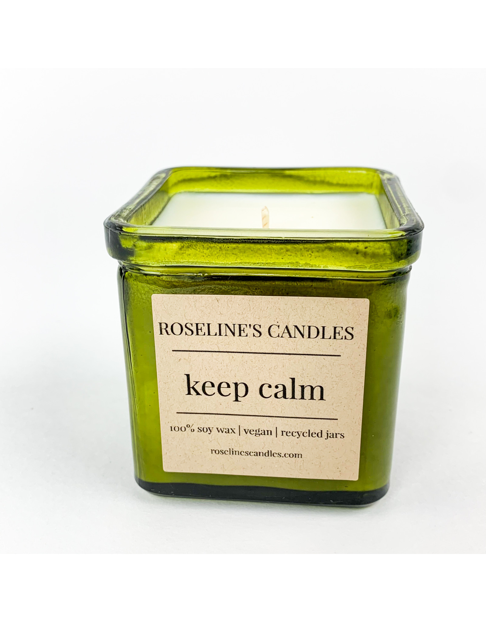 Roseline's Candles Keep Calm Candle