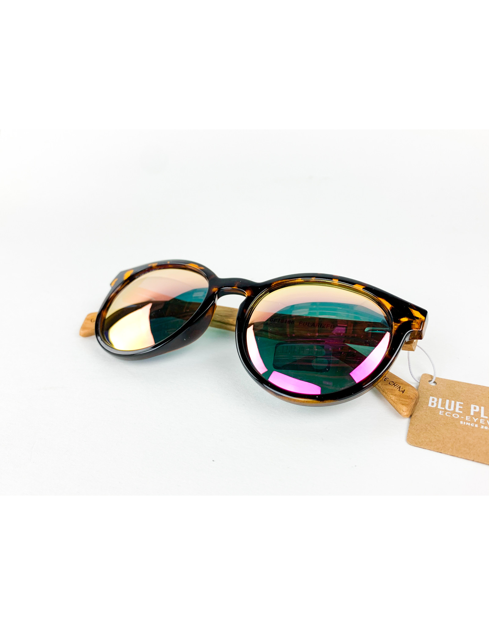 Blue Planet Sunglasses Andiz Amber Tortoise Zebra