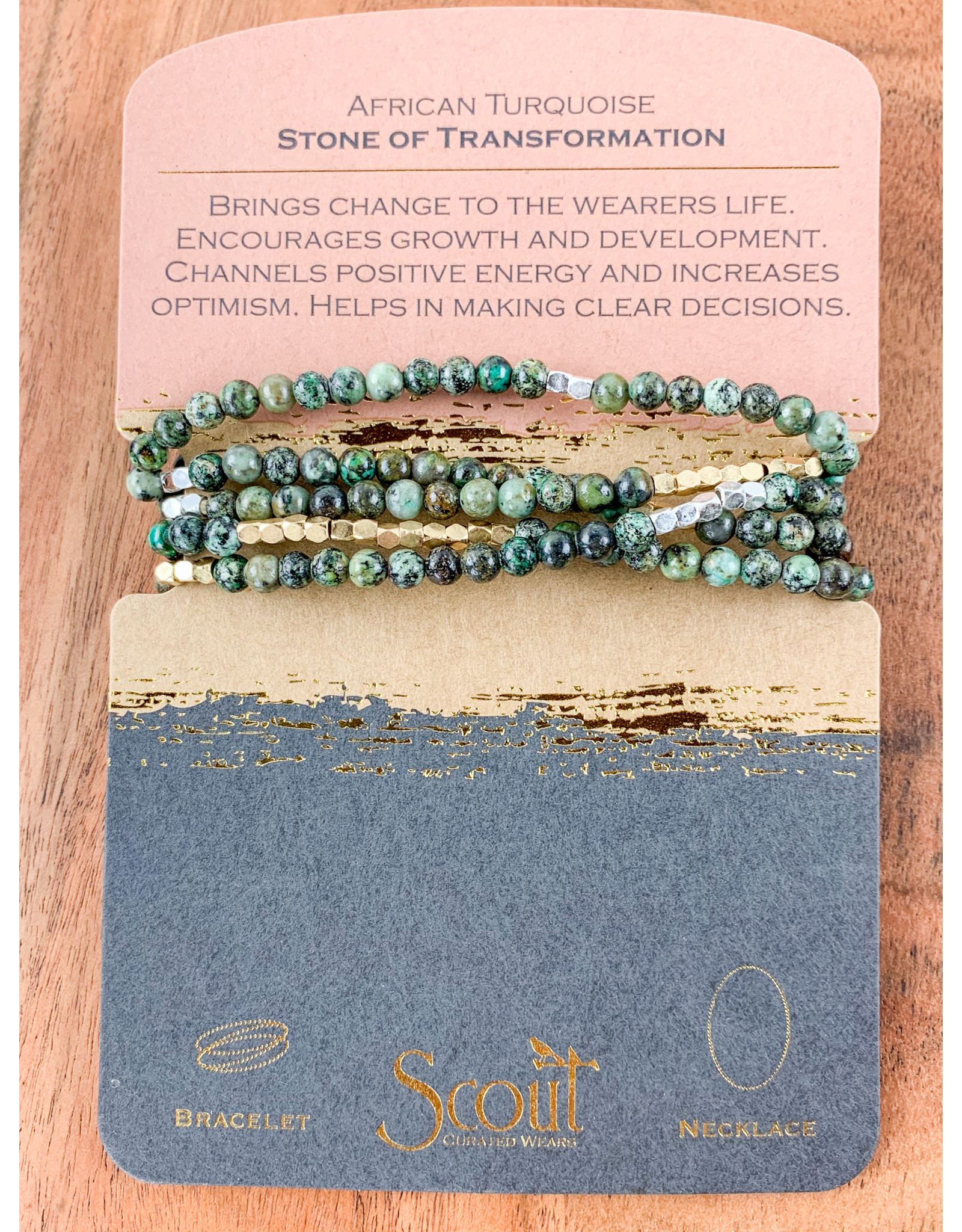 African Turquoise/Bracelet