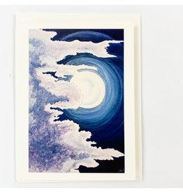 Juan T Parker Non consignment Moonlit Clouds