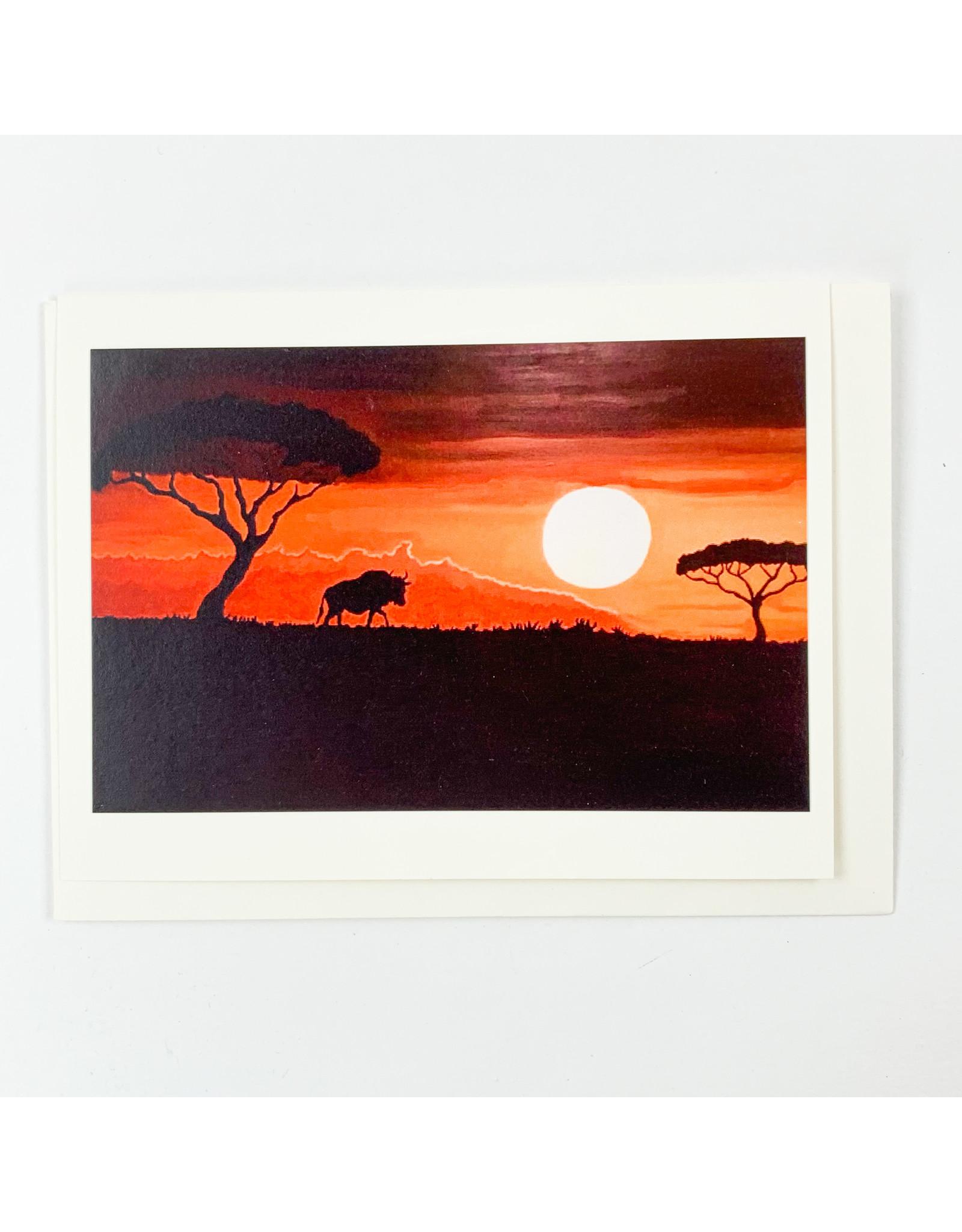 Juan T Parker Non consignment African Sunset