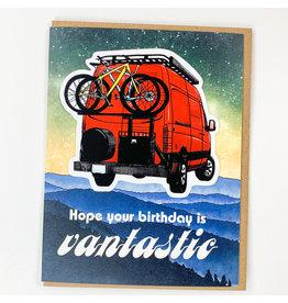 water knot Vantastic Sticker Card