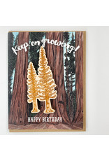 water knot Conifers Magnet Card