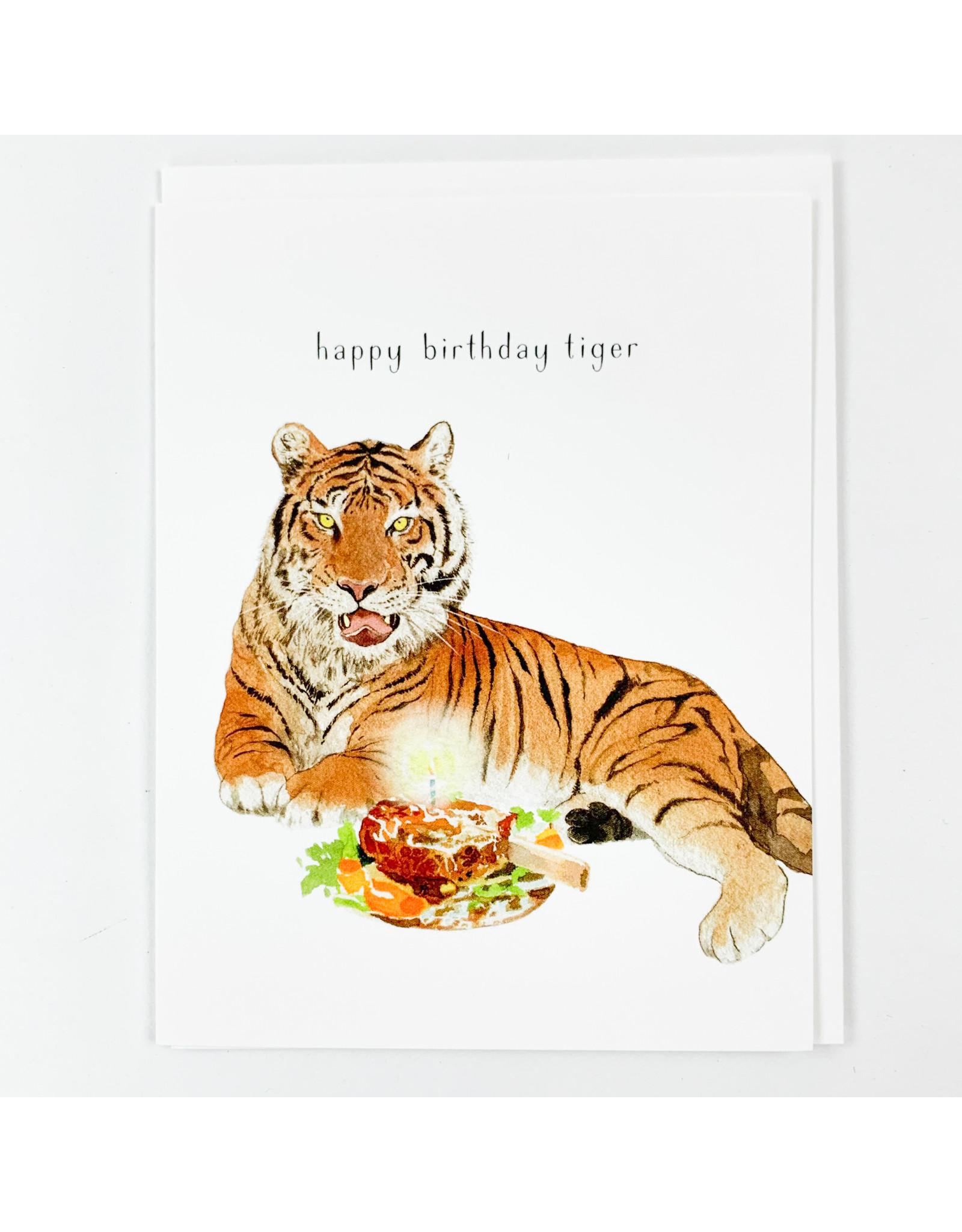 Felix Doolittle Tiger Birthday