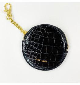 Pixie Mood Monica Pouch Black Croc