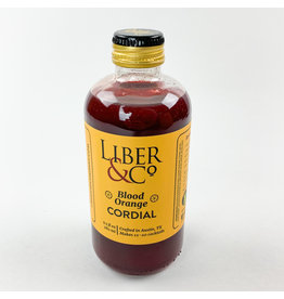 Liber and Co Blood Orange Cordial