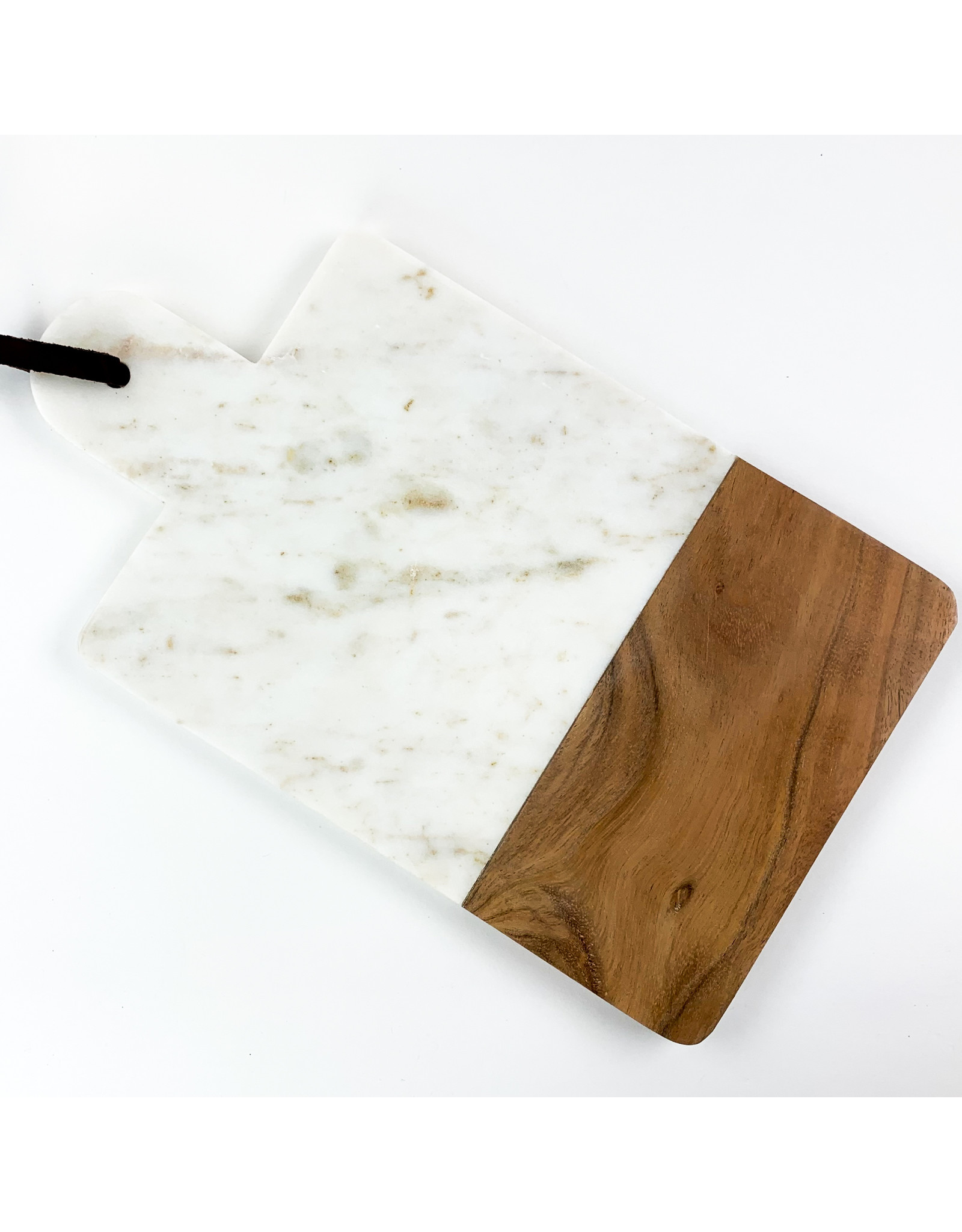 Now Designs Serving Paddle Pink Marble