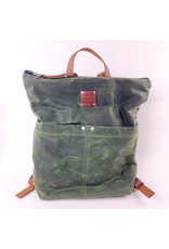 Yvonne Nicole Designs Juniper Green Backpack Consignment