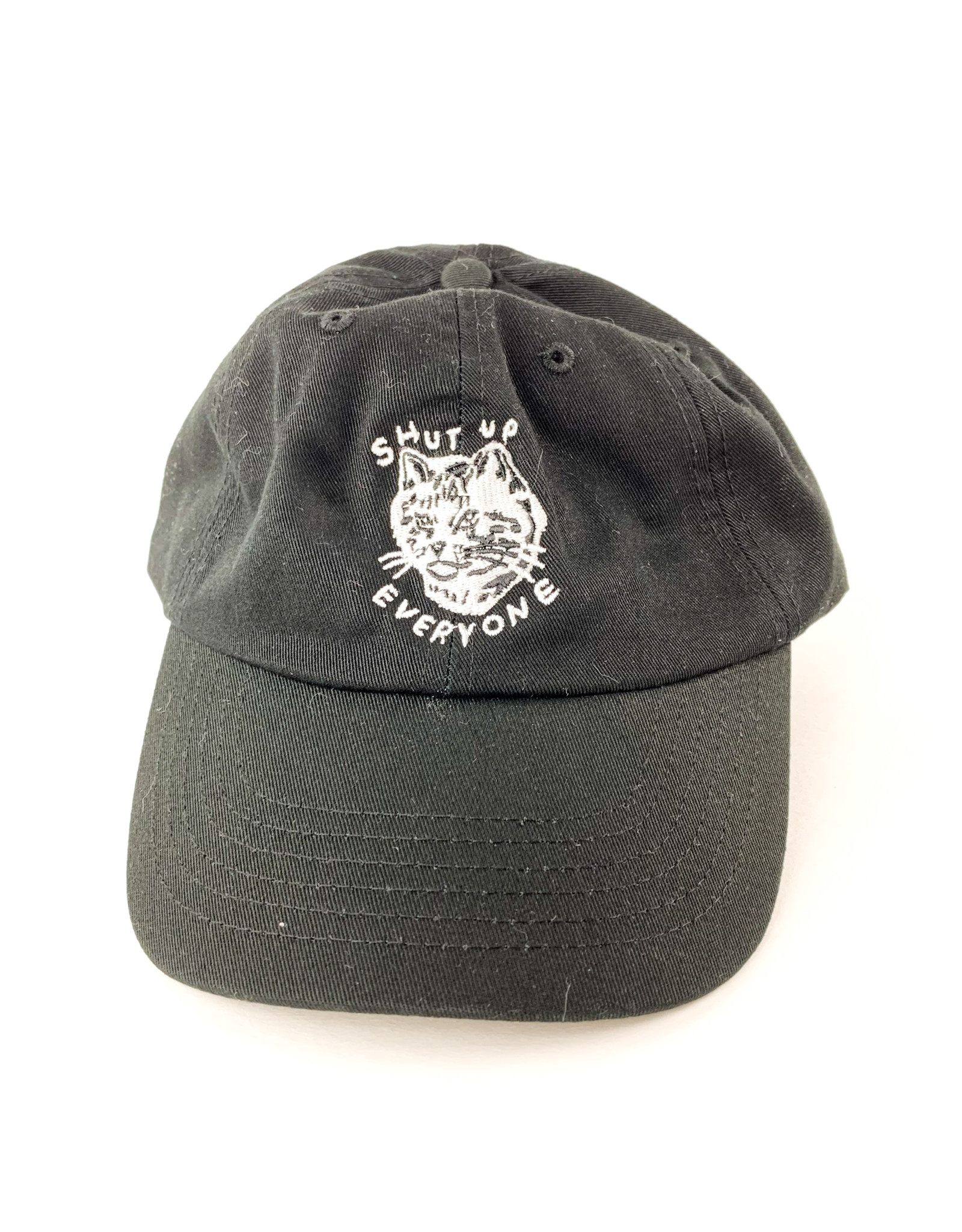 Stay Home Club Shut Up Everyone Dad Hat
