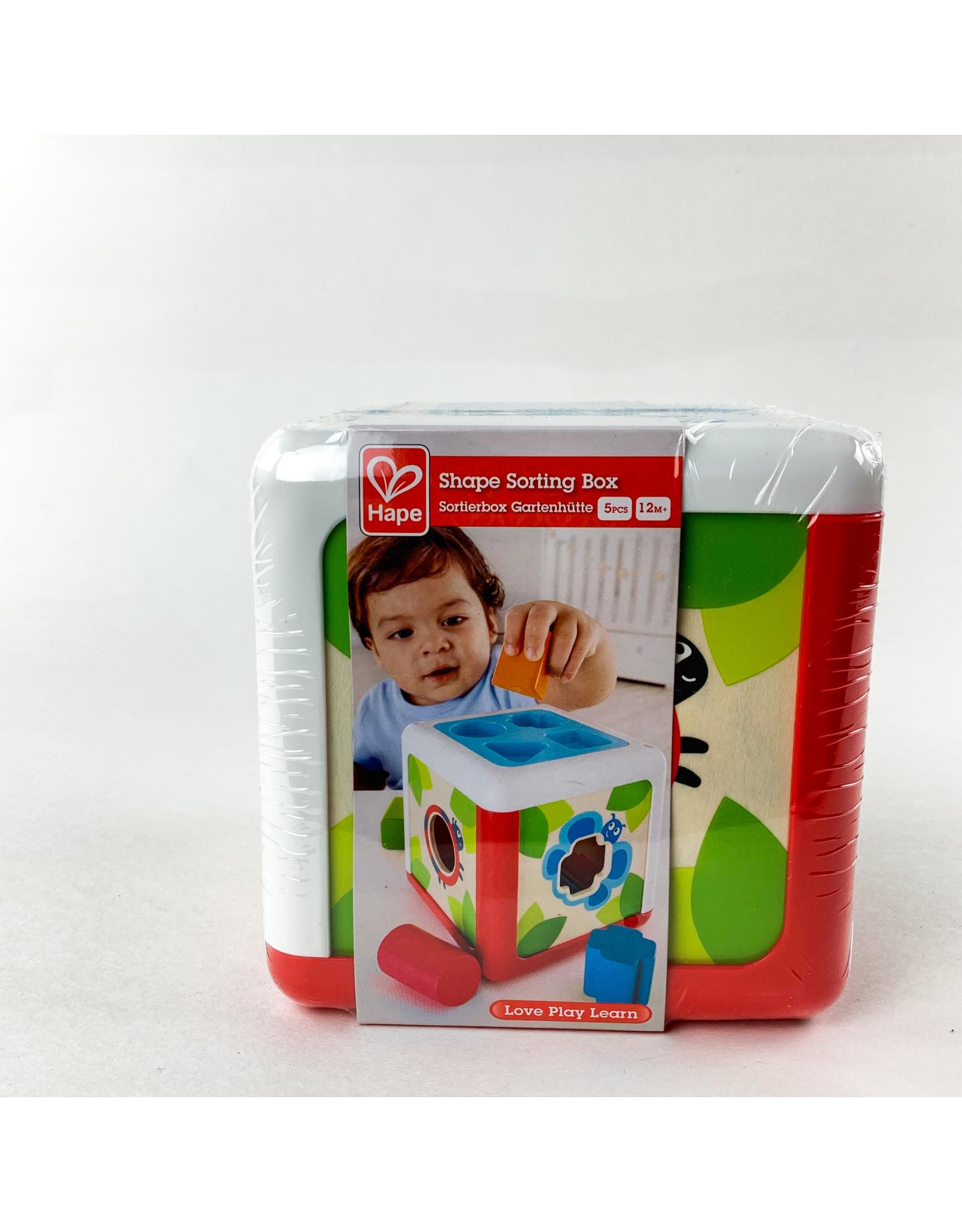 Hape Shape sorter box