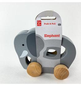 Hape Wooden Elephant Push toy