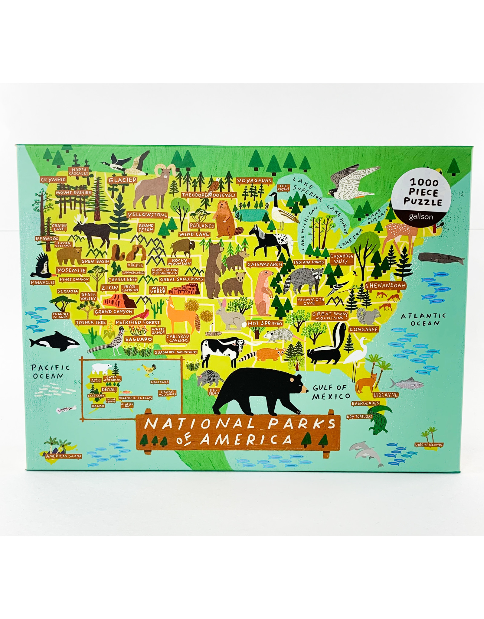 Chronicle Books Puzzle 1000 National Parks of America