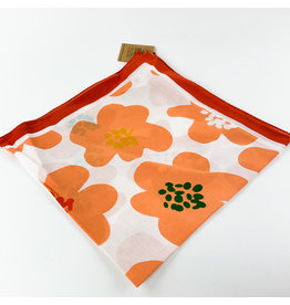 Creative Co-Op Cotton Printed Bandanas Psych Floral