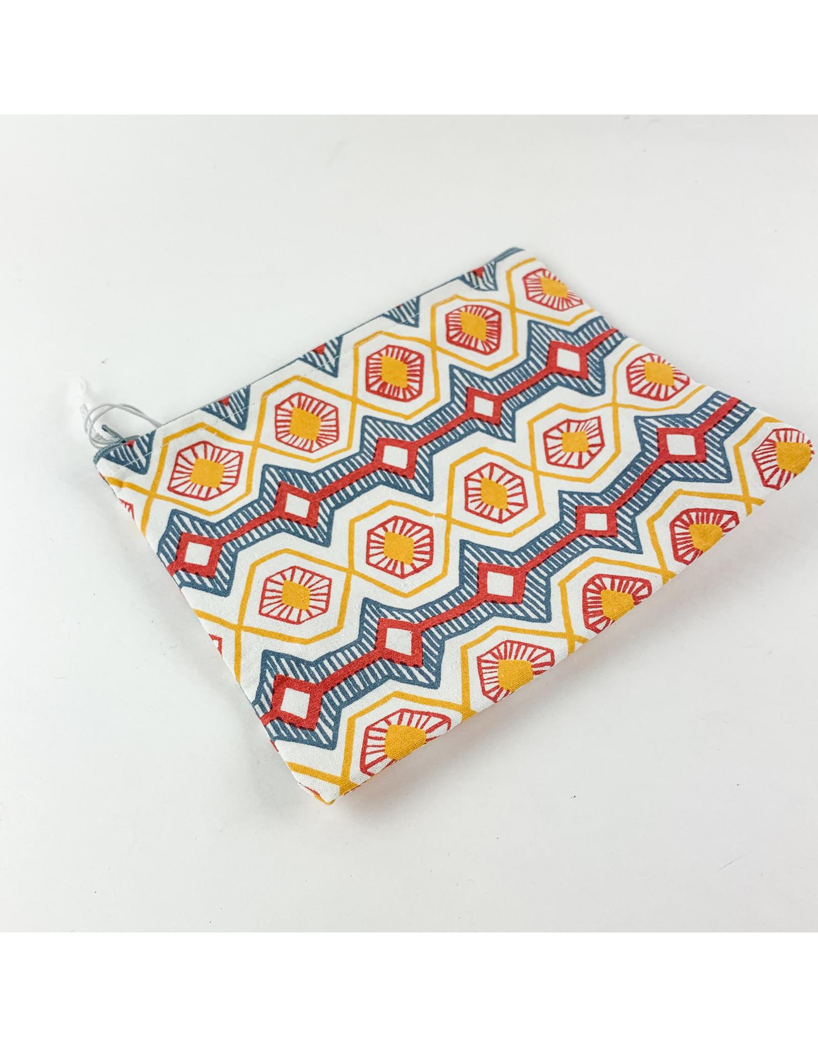 Creative Co-Op 8x6 Cotton Zip Hexagon