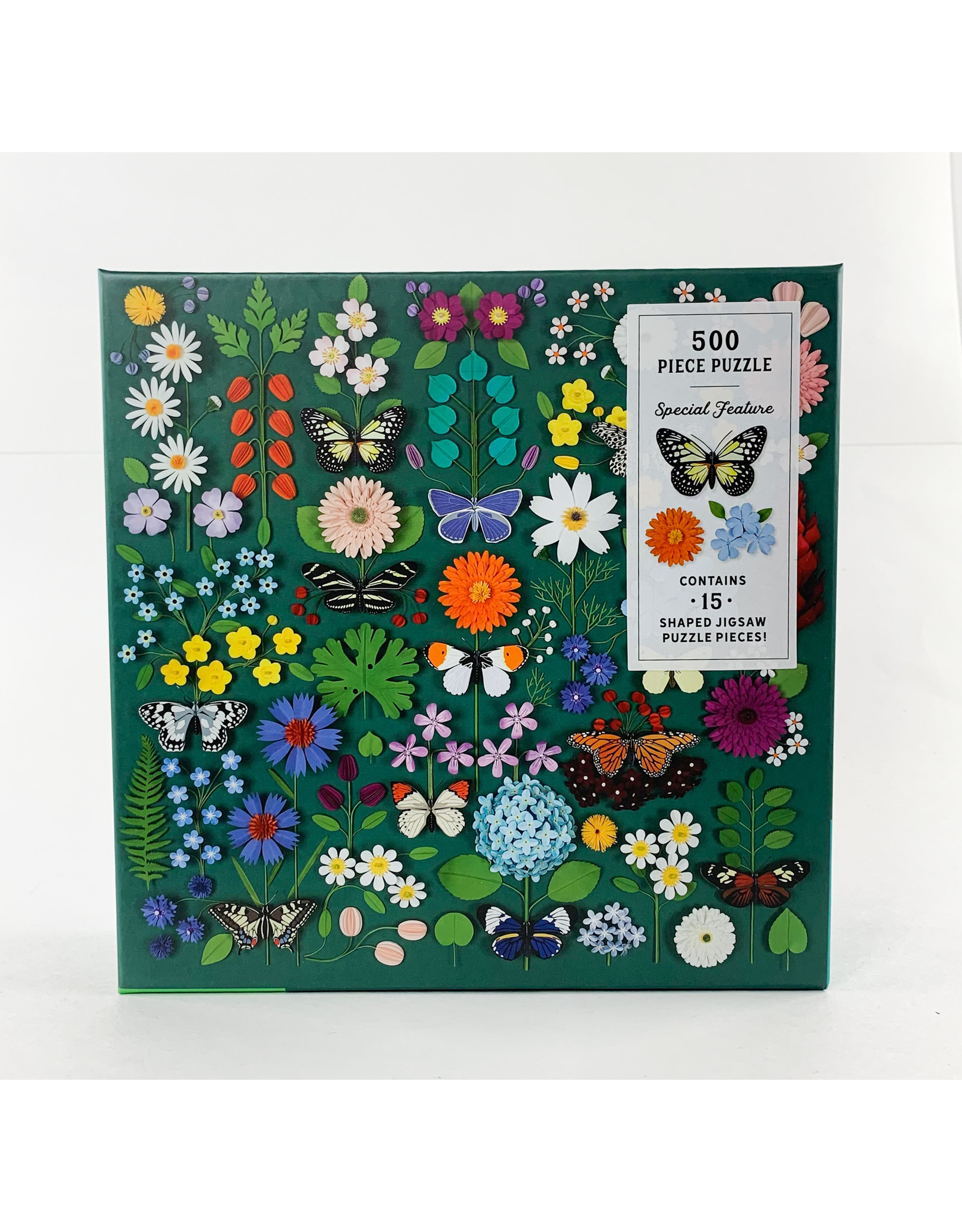 Chronicle Books Puzzle Shapped Butterfly Botanica