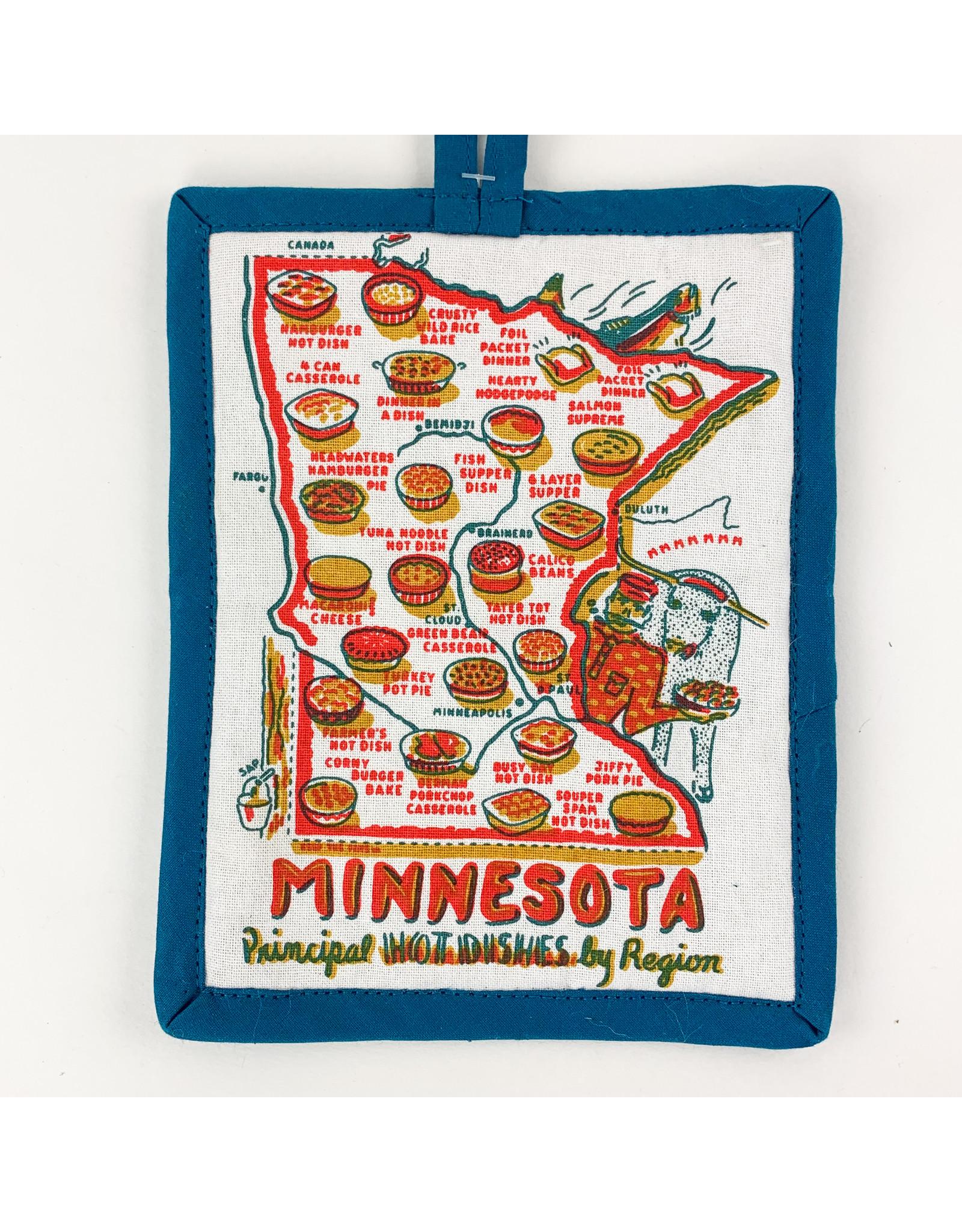 One Hundred 80 Degrees Hot Pad-Minnesota: Principal Hotdish by Region