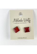 Melinda Wolff-consignment Square post earrings-E2-L Consignment