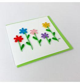 Iconic Quill Shop Flower Garden 4x4