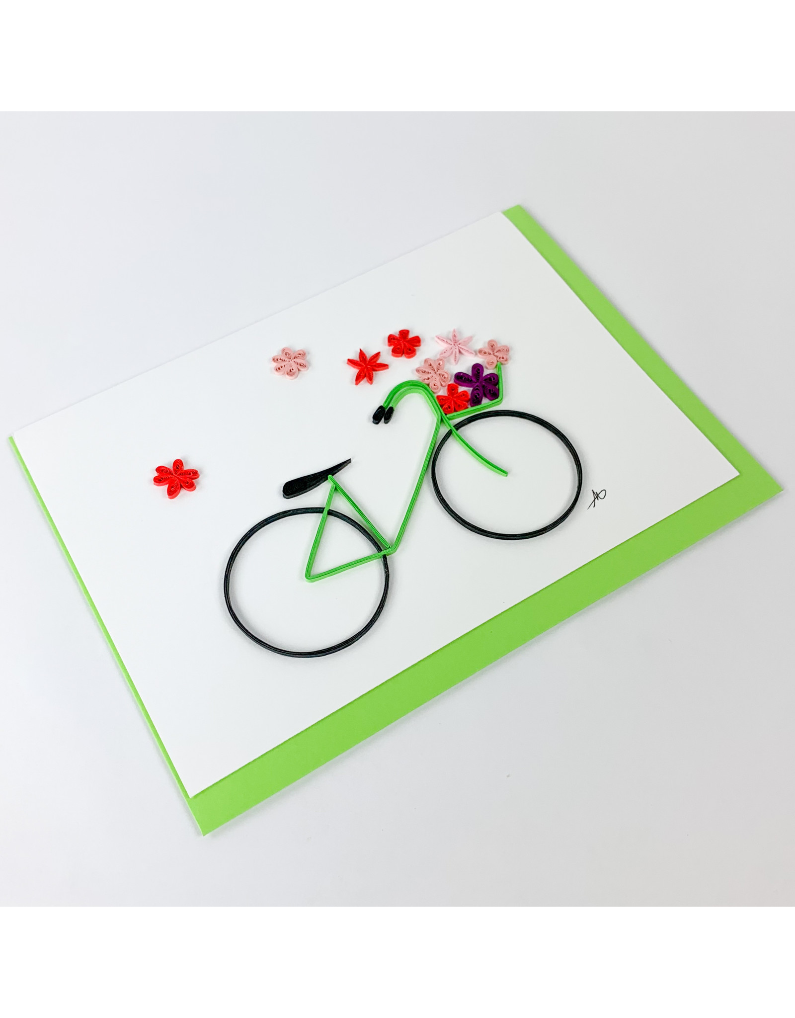 Iconic Quill Shop Bike Quill Card