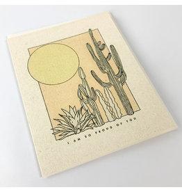 Red Cap Cards Desert Sunrise