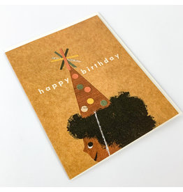 Red Cap Cards Afro B-day