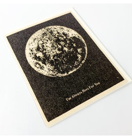 Red Cap Cards Here for you Moon