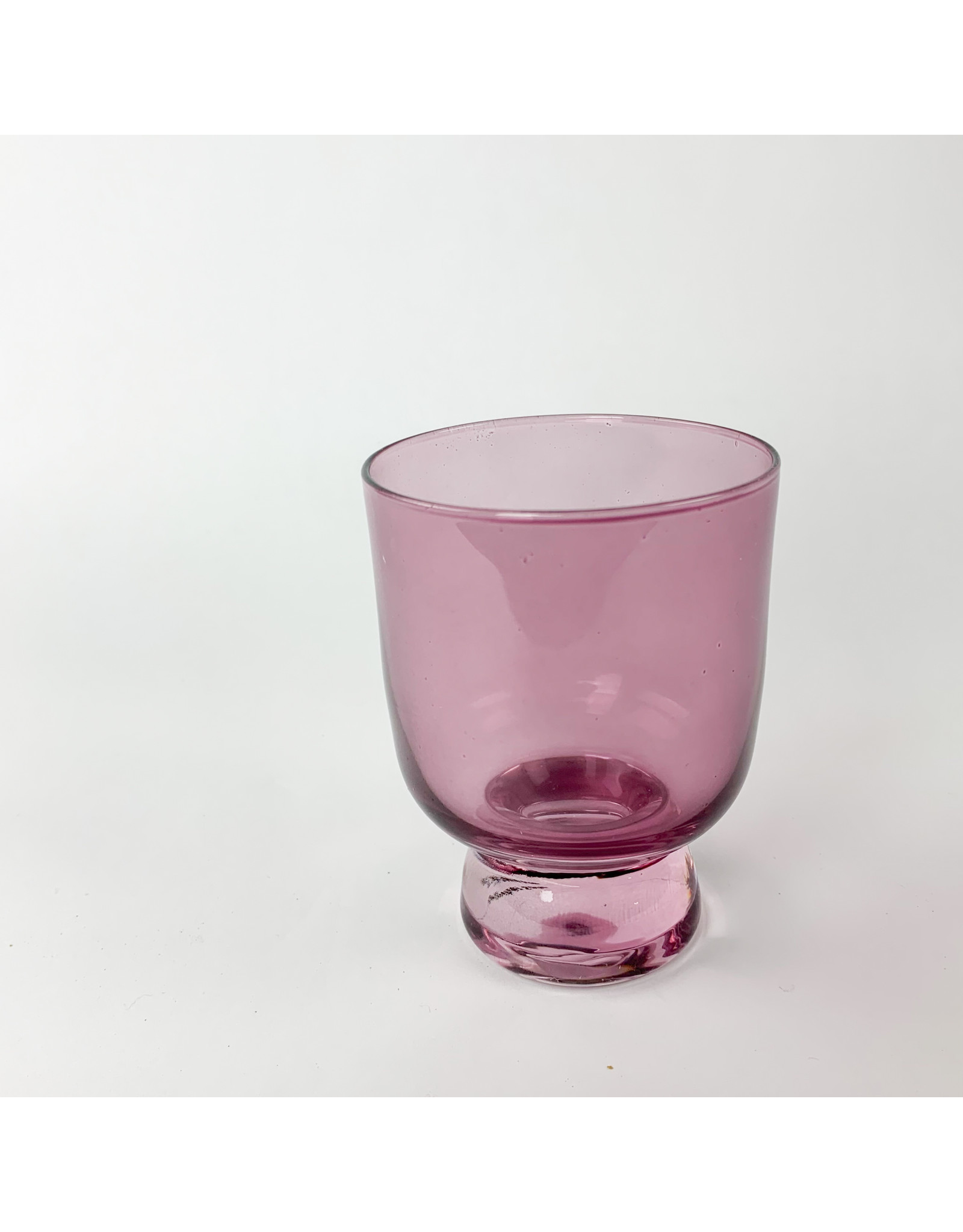 Creative Co-Op Stemless Drinking Glass Pink