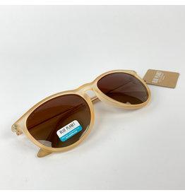 Blue Planet Sunglasses Kelsea Pop Frost Beige Brown