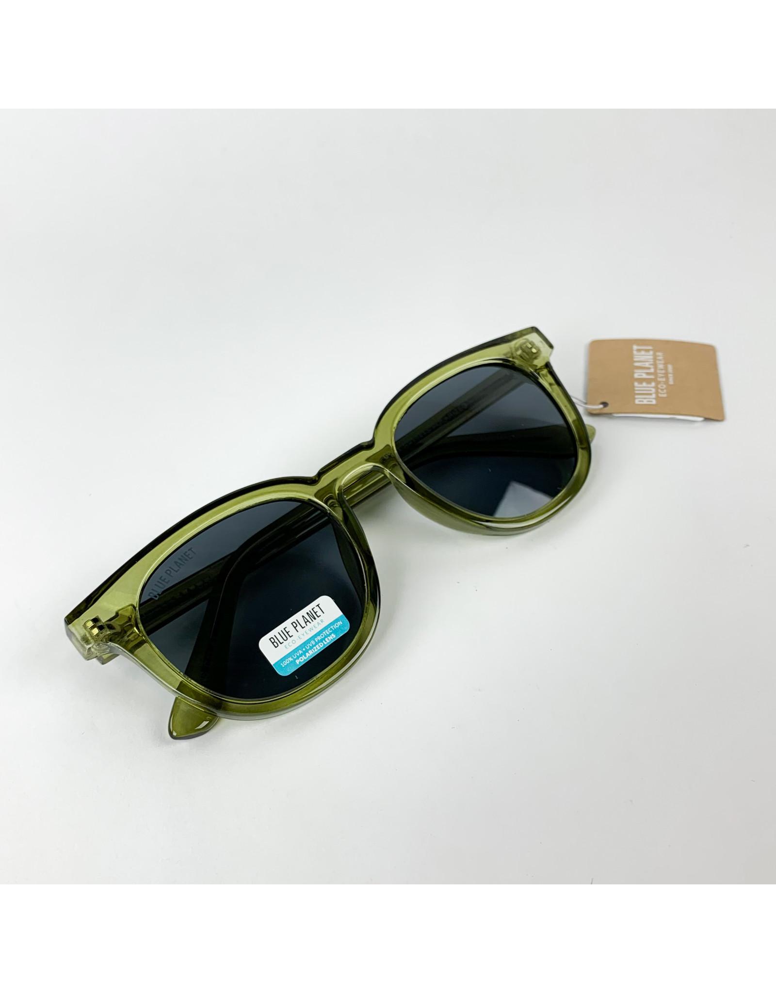 Blue Planet Sunglasses Gram Crystal Green