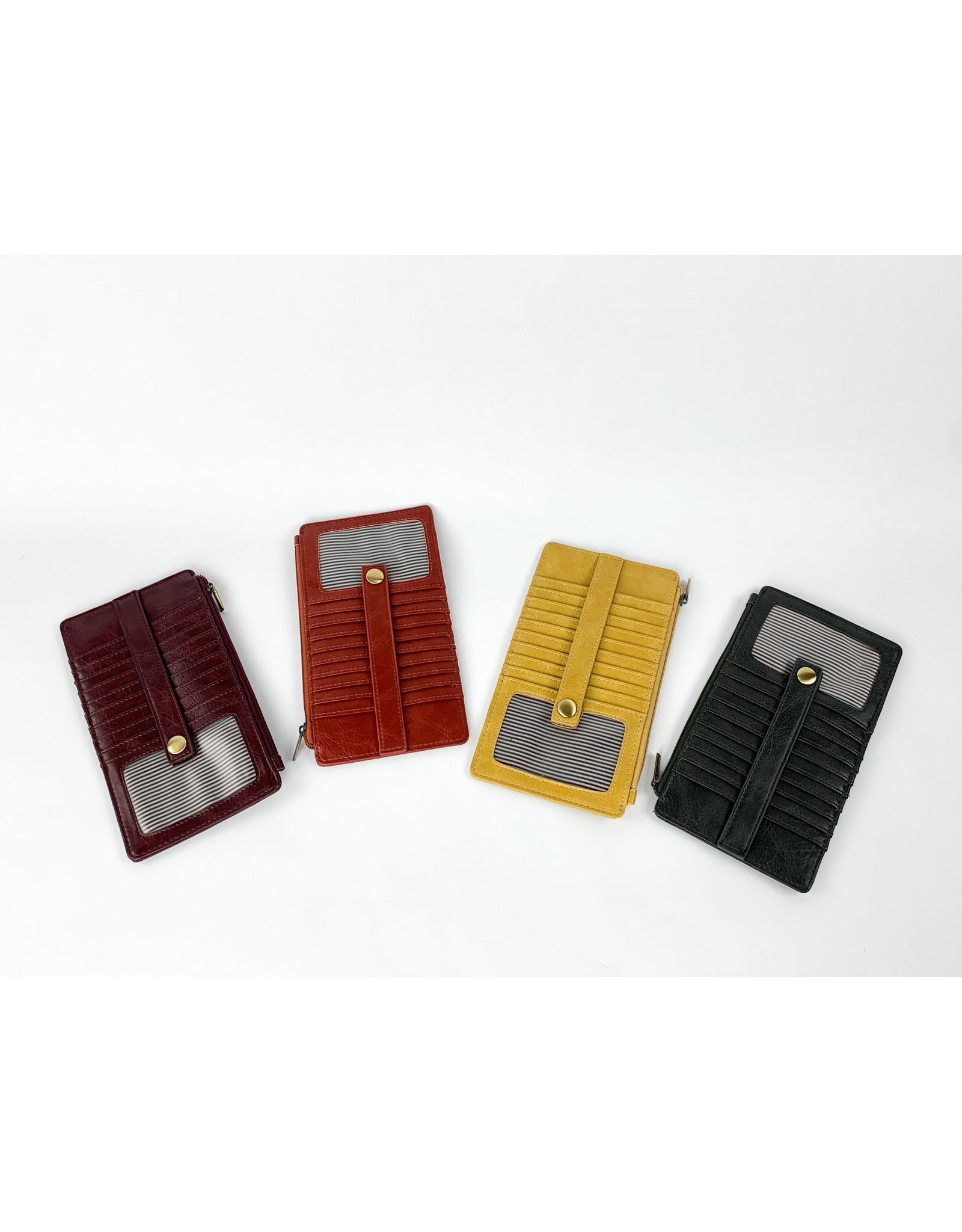 Joy Accessories Kara Mini Wallet - Rust
