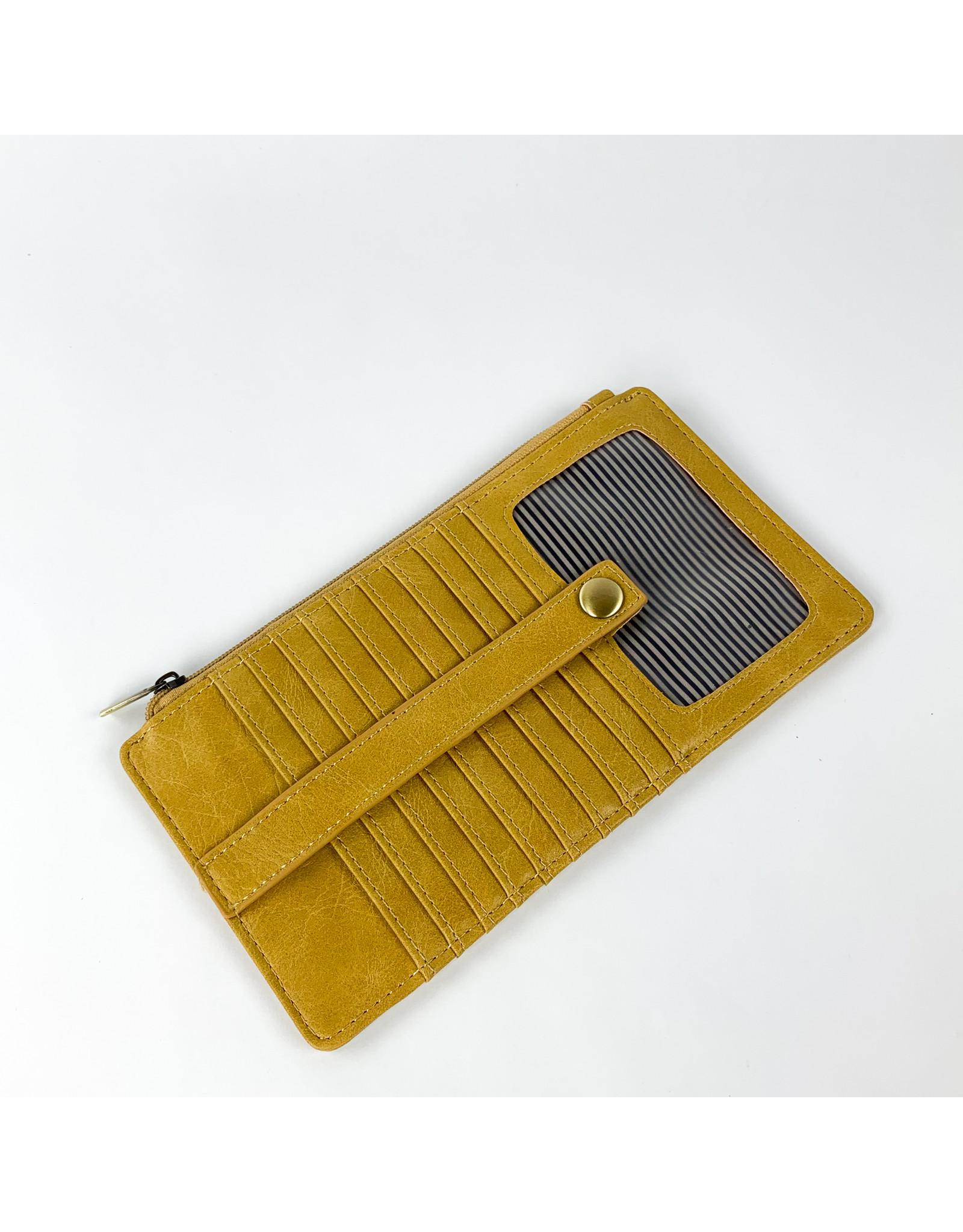 Joy Accessories Kara Mini Wallet - Mustard