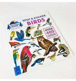 MacMillan Outdoor School: Spot and sticker bird