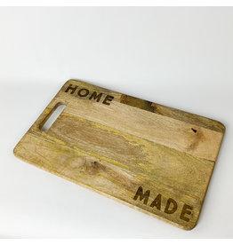 Creative Co-Op 18 x 11 Mango Wood Cutting Board