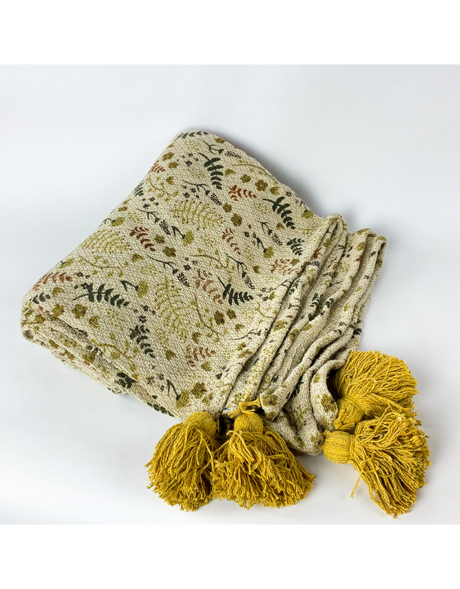 Creative Co-Op 60 x 50 Recycled Blend Throw