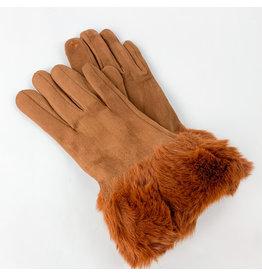 Gloves Burnt Orange