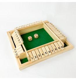 Mad Man Shut the Box Game
