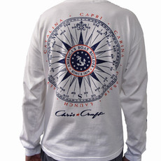 Chris Craft Vintage Compass L/S Shirt