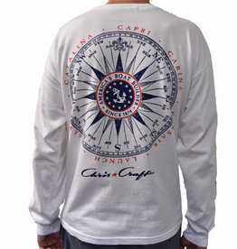 Chris Craft Vintage Compass L/S Shirt
