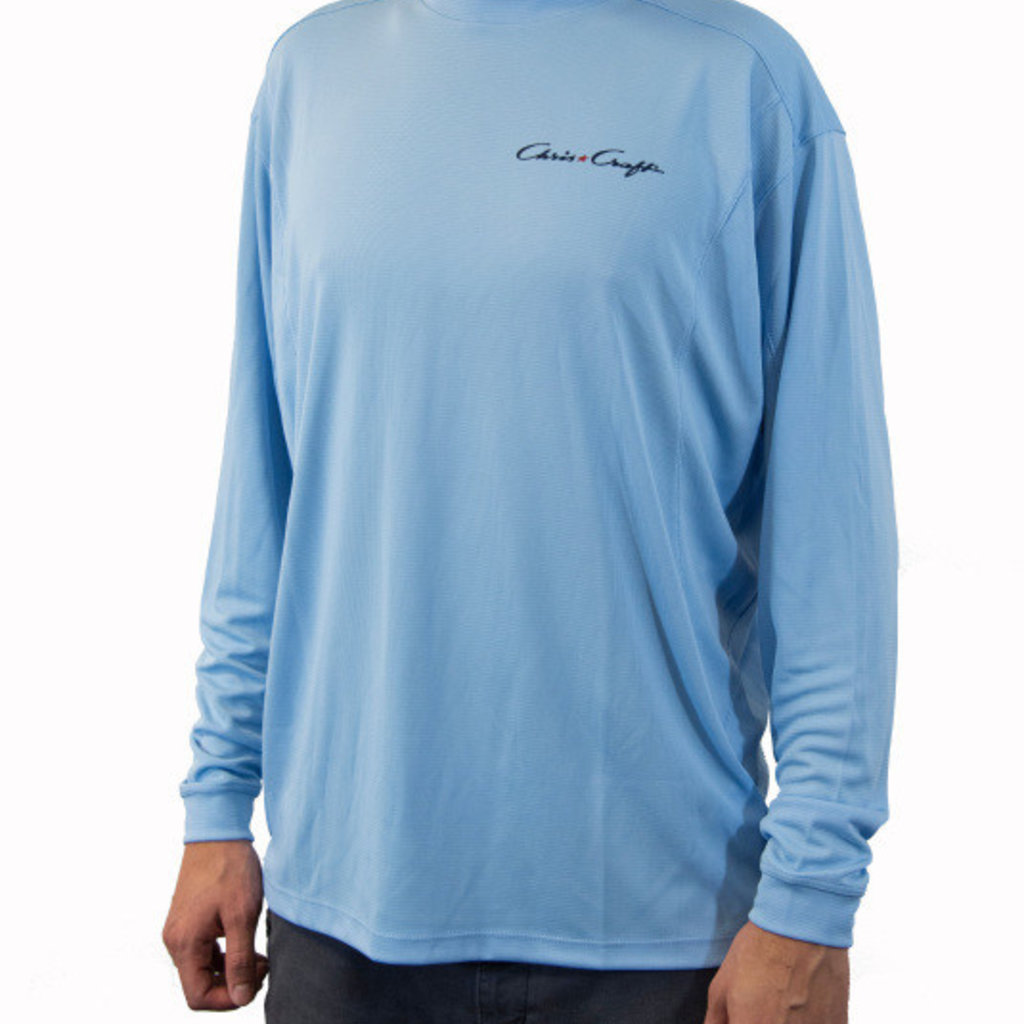 Performance Crew Neck Sky Blue
