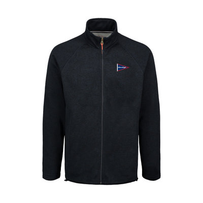 Chris Craft MENS TWO TONE SWEATERFLEECE FULL ZIP