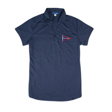 Chris Craft SHIRT, LADIES DIGI PERF POLO NAVY